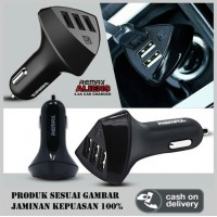 Charger Mobil REMAX ALIENS, Car Charger 3 USB Port
